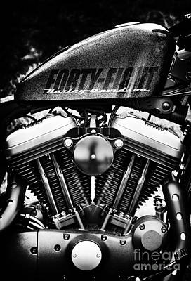 Harley Davidson Photograph - Forty Eight by Tim Gainey