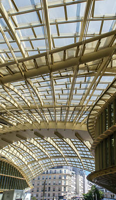 Digital Art - Forum Des Halles In Paris France by Carol Ailles