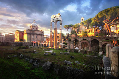Photograph - Forum Of Caesar by Yhun Suarez