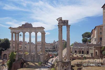 Photograph - Forum Romanum 2 by Rudi Prott