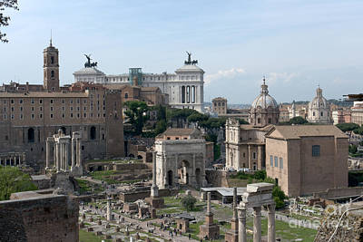 Forum Romanum Art Print by Fabrizio Ruggeri