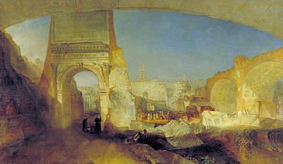Forum Romanum, For Mr Soane's Museum Art Print by JMW Turner