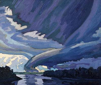 Weather Painting - Forward Flank Downdraft by Phil Chadwick