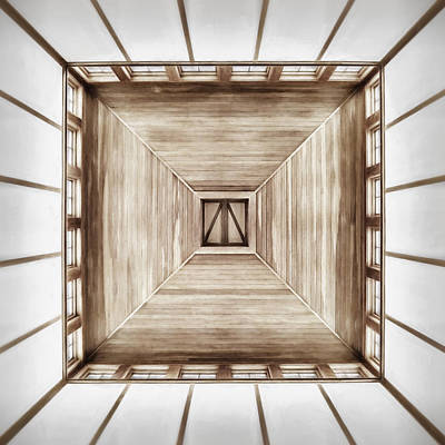 Symmetry Photograph - Forward Or Up by Scott Norris