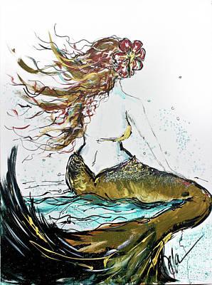Forward Seas Art Print