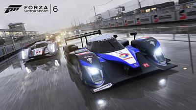 City Digital Art - Forza Motorsport 6 by Super Lovely