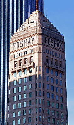 Kim Fearheiley Photography Royalty Free Images - Foshay Tower Royalty-Free Image by Lonnie Paulson