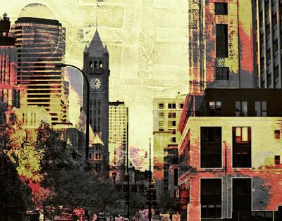 Digital Art - Foshay Tower by Susan Stone