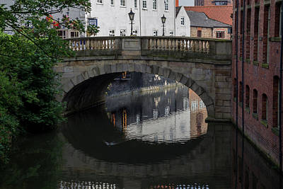 Photograph - Foss Bridge - York by Scott Lyons