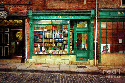 Photograph - Fossgate Books by Stuart Row