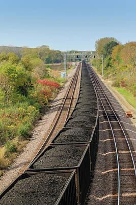 Photograph - Fossil Fuel Train by Joni Eskridge