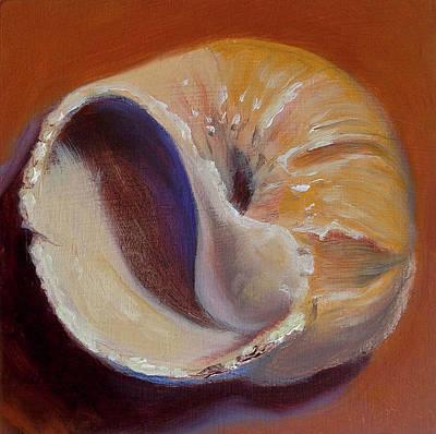 Fossil Moon Shell Original