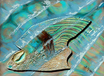 Painting - Fossil On The Shore by Suzanne McKee