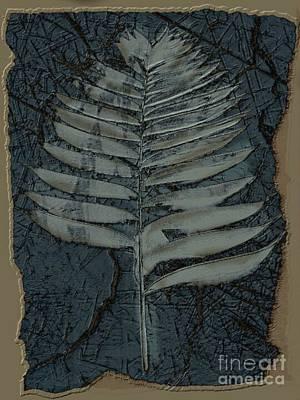 Fossil Palm Art Print by Delynn Addams