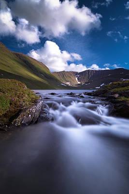 Long Exposure Photograph - Fossvatnet by Tor-Ivar Naess
