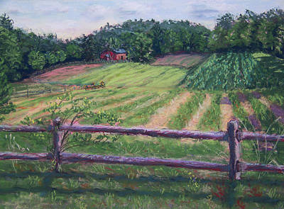 Fosterfields Farm Art Print by Laurie Paci