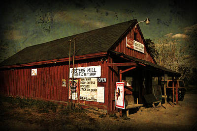 Photograph - Fosters Mill Store by Patricia Montgomery
