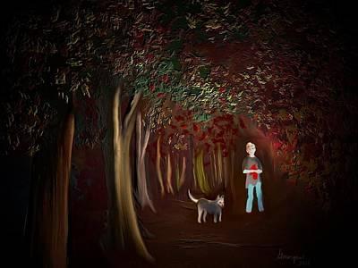 Digital Art - Found II by Gerry Morgan