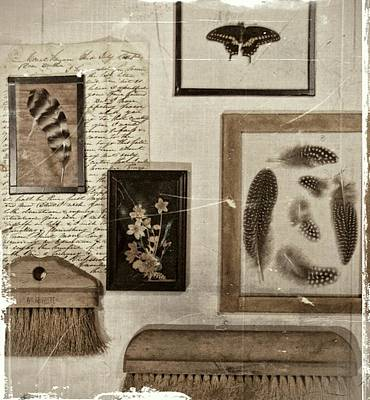 Photograph - Found Object Assemblage by Lisa Kaye