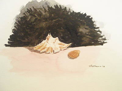 Found Art Print by Robby  Entrekin
