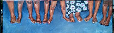 Painting - Foundation by Gwendolyn Frazier