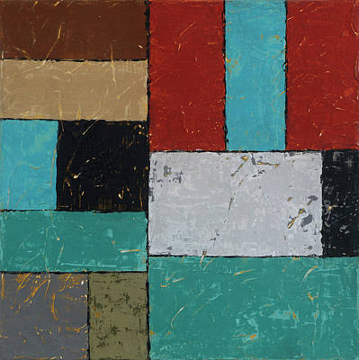 Painting - Foundations 1 by Jim Benest