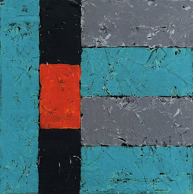 Painting - Foundations 2 by Jim Benest