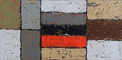 Painting - Foundations 4 by Jim Benest