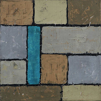 Painting - Foundations 5 by Jim Benest