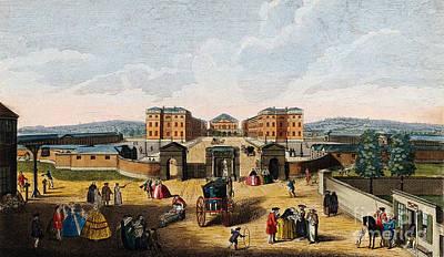Foundling Hospital, Holborn, London Art Print
