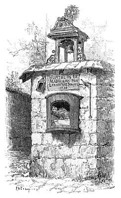 Foundling Tower, 19th Century Art Print