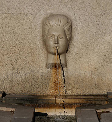 Fountain 2 Art Print by Andrew Fare