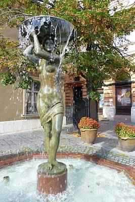 Photograph - Fountain Femme by Barbie Corbett-Newmin