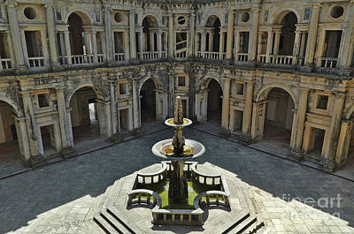 Photograph - Fountain In The Convent Of Christ. Tomar, Portugal by Angelo DeVal