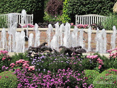 Photograph - Fountain by Kathie Chicoine