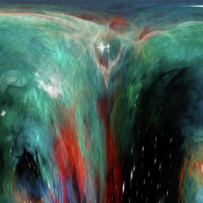 Painting - Fountain Of Eternity by Andrea Mazzocchetti