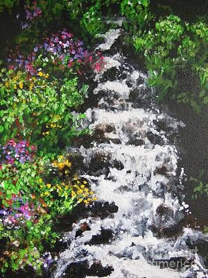 Painting - Fountain Of Gardens by Dan Whittemore