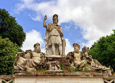 Photograph - Fountain Of The Goddess In Roma, Italy by Elenarts - Elena Duvernay photo