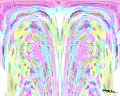 Digital Art - Fountain Of Youth #034 by Barbara Tristan