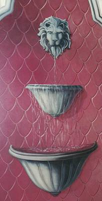 Painting - Fountain Of Youth by Suzn Art Memorial