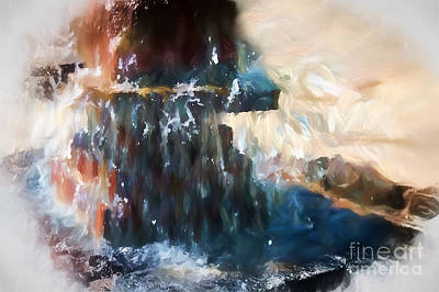 Digital Art - Fountain Pleasure by Margie Chapman