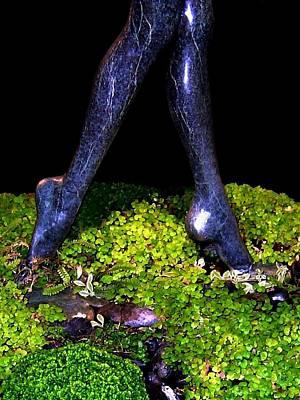 Photograph - Fountain Sculpture by Will Borden