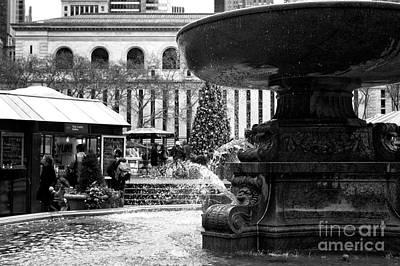 Fountain Terrace Art Print
