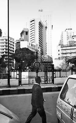 Photograph - Tinubu Square Environ by Muyiwa OSIFUYE