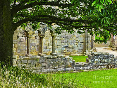 Photograph - Fountains Abbey by Judi Bagwell