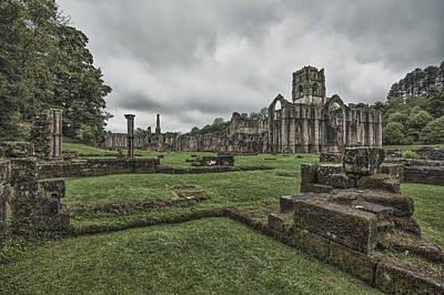 Photograph - Fountains Abbey by Stewart Scott