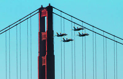 Photograph - Four Angels Through The Bridge by Bonnie Follett