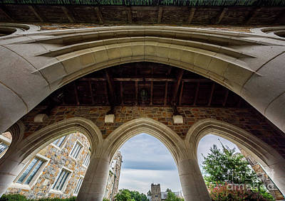 Berry College Photograph - Four Arches by Doug Sturgess