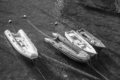 Photograph - Four Boats In Italy  by John McGraw