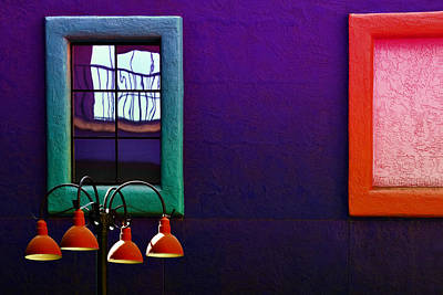 Photograph - Four Lamps by Maria Coulson